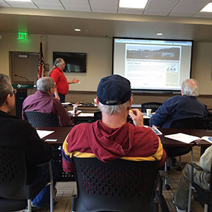 EAA Chapter 1361 General Meeting at the Reno-Stead Airport.