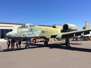 Fairchild Republic A-10-A Thunderbolt II