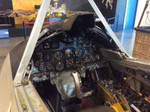 Single-seat cockpit procedure trainer.