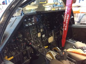 Two-seat cockpit procedure trainer.
