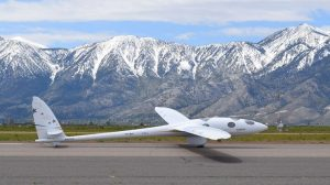 The Perlan II glider at KMEV.