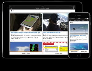 Sporty's Takeoff App for iPad and iPhone. Photo Credit: ipadpilotnews.com