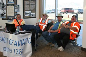 Break Time in the Reno-Stead Terminal