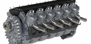 Higgs step-piston 2-stroke engine