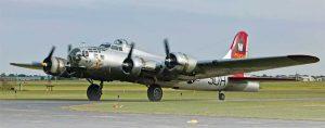 "EAA B-17 ""Aluminum Overcast"""