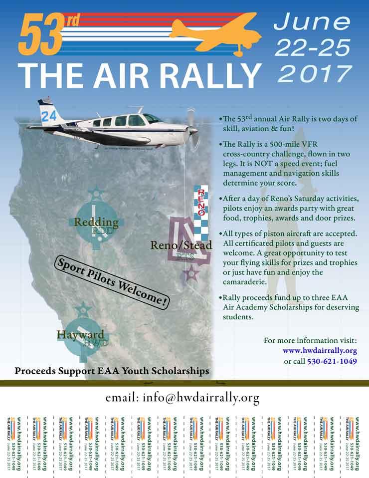 2017 Hayward Air Rally