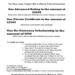 Reno-Area 99s Looking for Scholarship Applicants