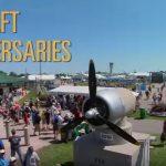AirVenture 2016 Aircraft Anniversaries