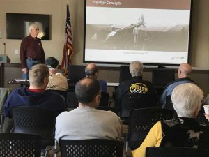 Jack Herris giving his presentation at our March 2017 Chapter Meeting.