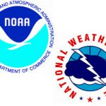 Logos for the National Weather Service and NOAA.
