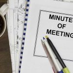 Board Meeting Minutes – September 26, 2018