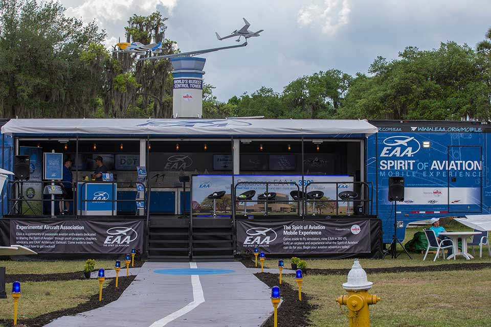 EAA's Spirit of Aviation Mobile Exhibit