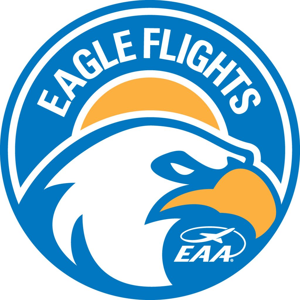 EAA Eagle Flight Logo
