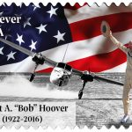 U.S. Stamp commemorating Bob Hoover