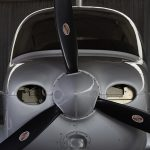 Aircraft Nose with 3-bladed prop