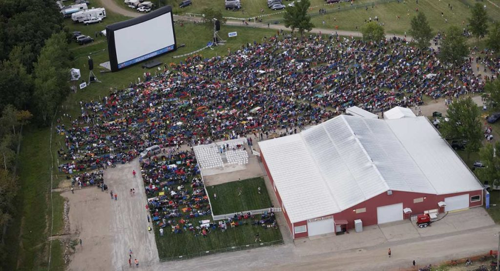Fly-in Theater at EAA AirVenture
