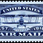 Airmail Stamp - established 1918