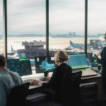 Control Tower Controllers at Work