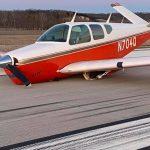 v-tail Bonanza Landing